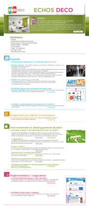 Newsletter FND - Echo déco